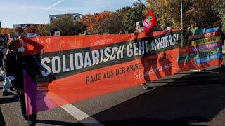 Enttäuscht von Ampel: Demonstranten wollen Druck auf Koalitionäre machen