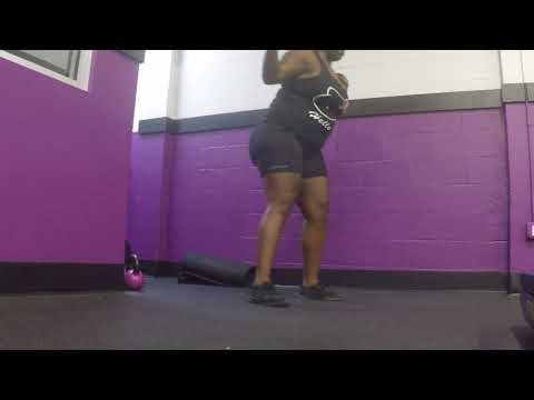 Plus Size Workout Series Ep. 18 | Curvy/Chubby/BBW/SSBBW Fitness| Weightloss | Healthy | EHNDIGO
