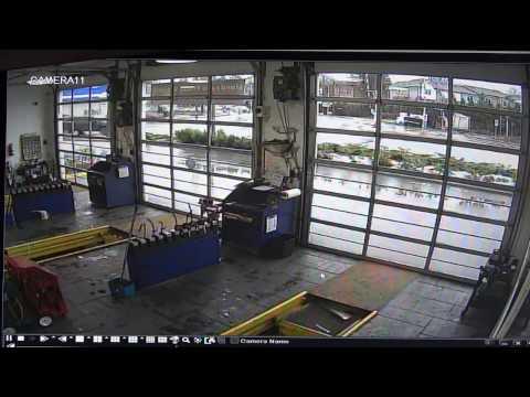 Coquitlam Carjacking Crash Surveillance Footage