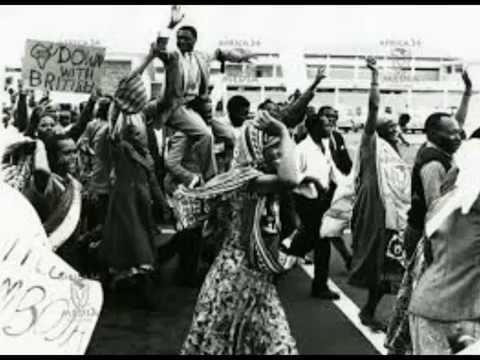 Anti-colonial struggle in Kenya (Rare footage)