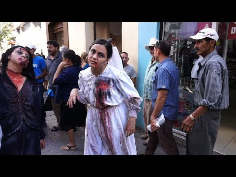 """Zombies"" call attention to violence against women in Honduras"