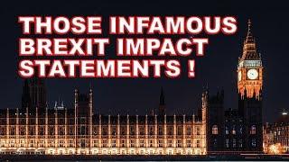✒️Those Infamous Secret Brexit Impact Statements!🖋