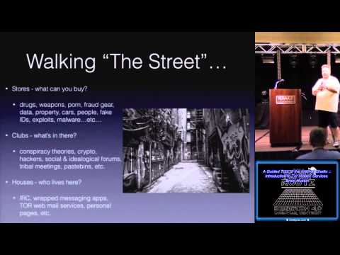 t201 A Guided Tour of the Internet Ghetto Introduction to Tor Hidden Services Brent Huston