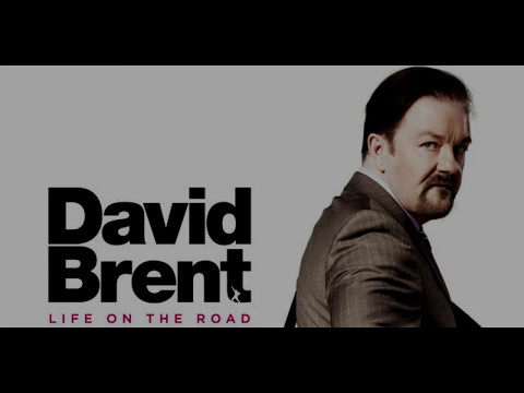 David Brent- Life on the road (karaoke - lyrics on screen)