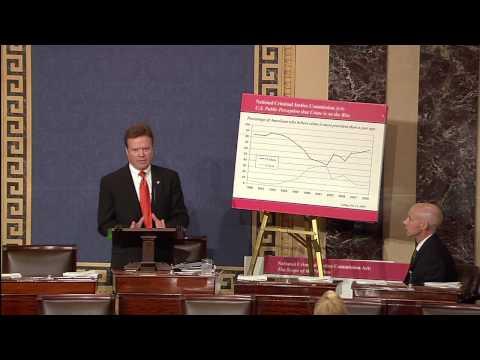 Senator Webb on Criminal Justice Bill passing House
