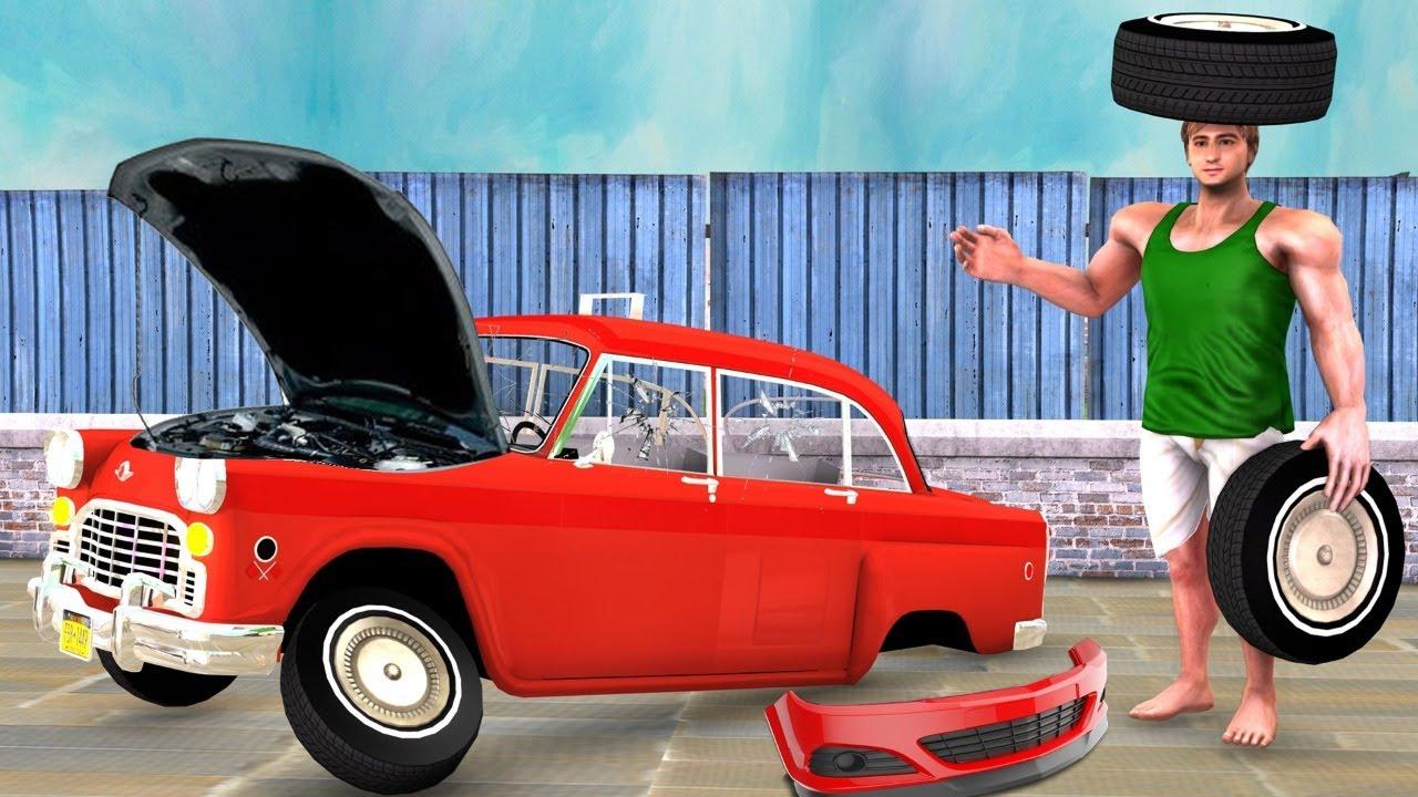 पहलवान की कार की समीक्षा Car Review Fail Funny Comedy Video - हिंदी कहानियाँ Hindi Kahaniya Comedy