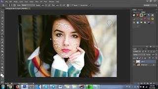 Photoshop | how to create pimples in Photoshop?