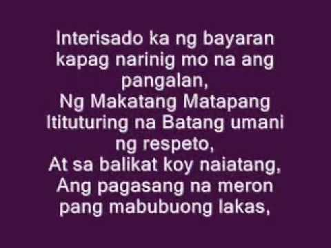 limang ulo with lyrics by repablikan