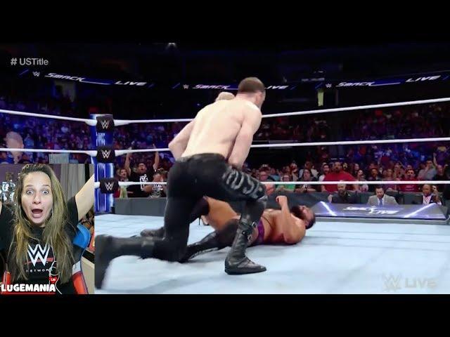 WWE Smackdown 9/18/18 Aiden English HEEL TURN