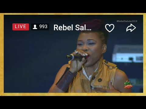 Queen Ifrica at Rebel Salute 2019