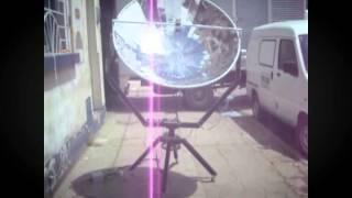 Prototipo de Colector Solar Parabólico Tipo Disco