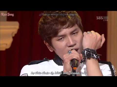 [Vietsub-Kara][121014] K.will - Please Don't @ SBS Inkigayo Comeback Stage