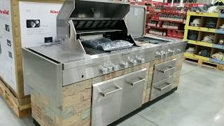 Costco! Kitchen Aid 9 Burner Outdoor Island Gas Grill! $2299!!!