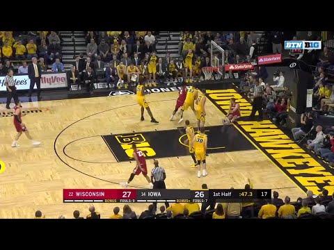 Wisconsin Badgers - Highlights: MBB: Wisconsin 72, Iowa 66