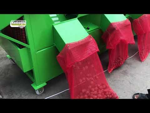 Kabuklu Ceviz Kalibre Boylama Makinesi - Kadıoğlu Twist1400