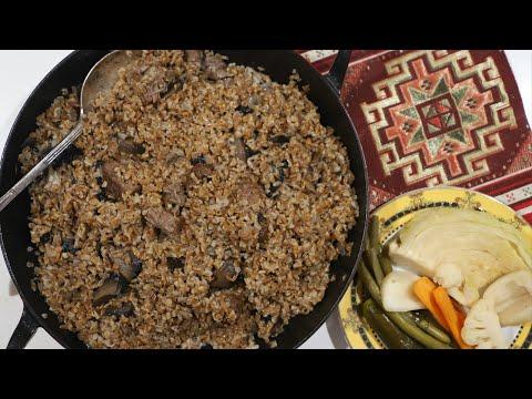 Армянский Плов - Полба Грибы Тхал - Армянская Кухня - Рецепт от Эгине - Heghineh Cooking Show