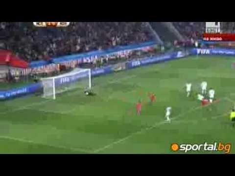 Los goles de España contra Honduras