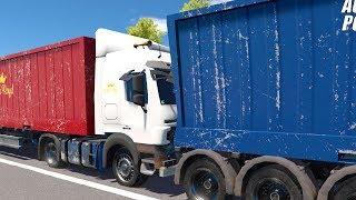 Autobahn Police Simulator 2 - Two trucks collide