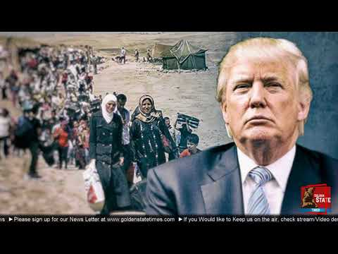 BREAKING NEWS: President Donald Trump slashes refugee admissions to 45,000 in 2018