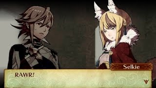 Fire Emblem Fates: Birthright - Male Avatar (My Unit) & Selkie Support Conversations