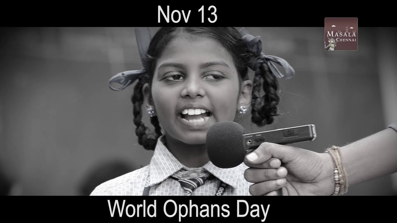 Motivational speech in Tamil for students by a Small Girl On Orphans day