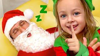Are you sleeping Santa - Christmas Song Maya and Mary