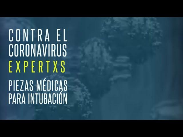 Expertos UNLP - Piezas médicas para intubación