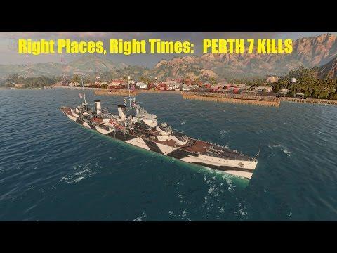 Right Places, Right Times- Perth 7 kills