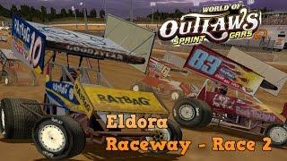 Eldora Speedway - Race 2 (World of Outlaw Sprint Cars)