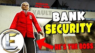 Bank Security Inside Job - Gmod DarkRP Life (Bank Robbery From The Inside Shhhh)