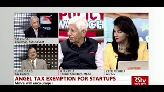 Policy Watch - Angel Tax Exemption for Startups