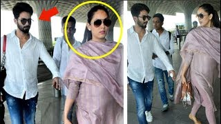 Mira Rajput INSULTS Shahid Kapoor Avoids Holding Hand In Front Of Media