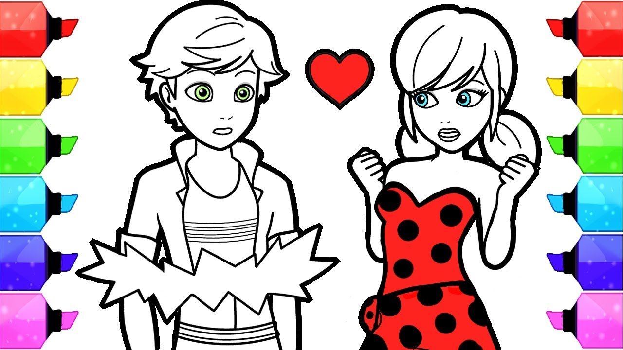 Miraculous Ladybug Coloring Pages The Big Reveal How To Draw And