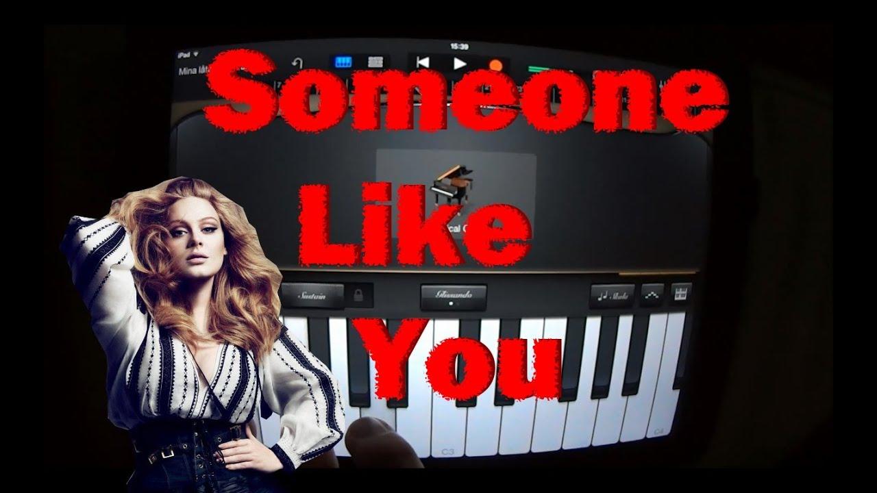 Adele someone like you garageband tutorial youtube adele someone like you garageband tutorial baditri Image collections