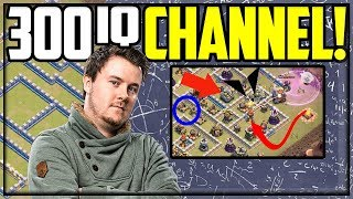 300 IQ CHANNEL? Clash of Clans Strategy With Itzu!