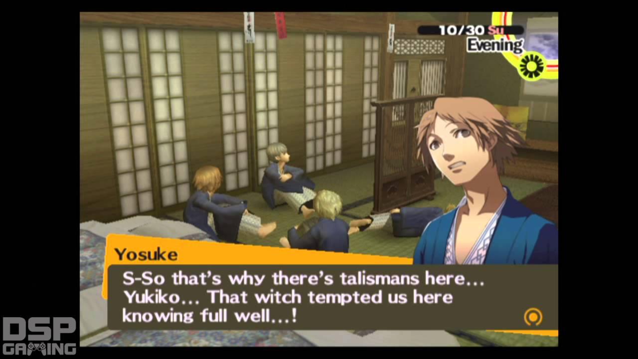 Persona 4 dating chie och Yukiko