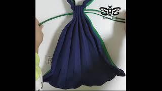 니트플리츠백 - 하프 앤 하프 숄더백 니트 주름 가방 …