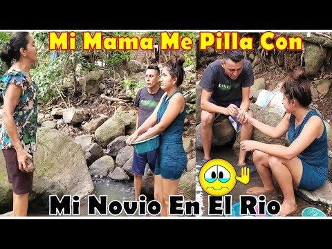 Mi Mama Me Pillo Con Mi Novio En  El Rio-Mira La Manera De Reaccionar De Ella-