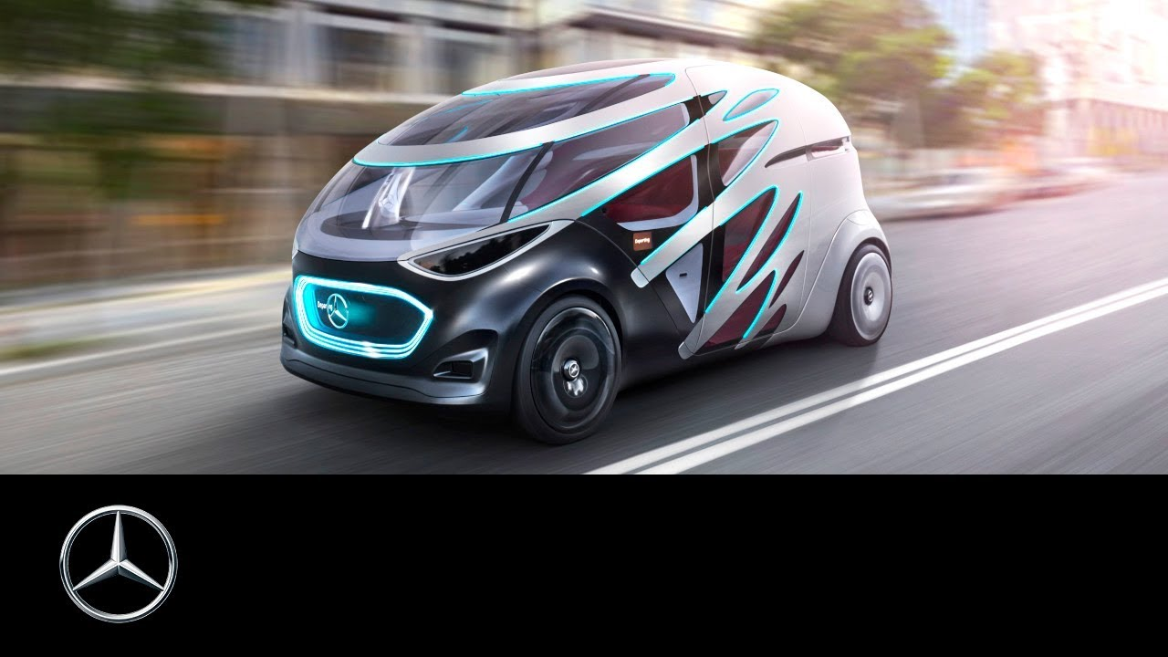 Mercedes Benz Vision Urbanetic Mobility For Urban Areas Youtube