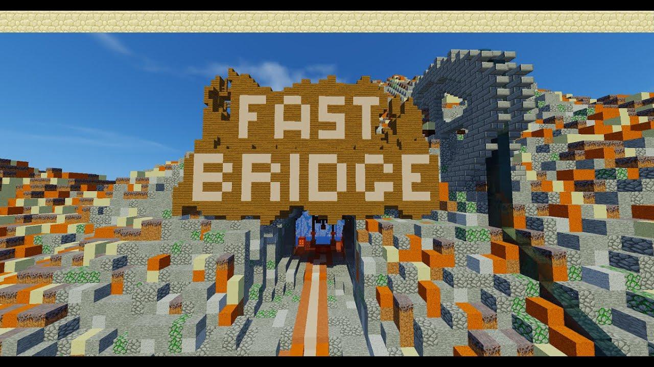 Minecraft Fast-bridge/ Eagle-trainer Map Vorstellung [German] [HD]  [+Download]