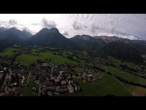 Paragliding with family & friends ,Annecy France 2017