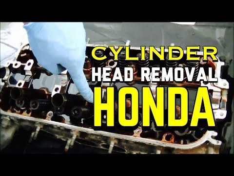Honda Accord Cylinder Head Removal/Head Gasket Repair -  2.0L 2.2L 2.3L 90 - 02 Prelude 97 Acura CL