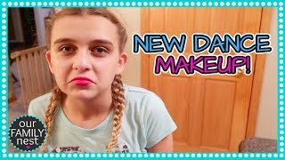 NEW COMPETITION DANCE MAKEUP!