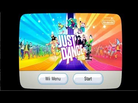 Just Dance 2018 Song List Menu (Wii)