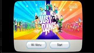 Just Dance 2018 Song List Menu (Wii)