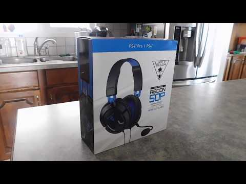 Ear Force Recon 50P Turtle Beach Headset Unboxing