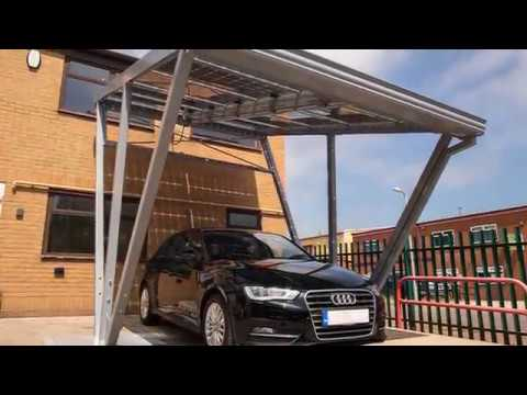 Solar Canopies and Solar Carports from Able Canopies Ltd. & Solar Canopies and Solar Carports from Able Canopies Ltd. - YouTube
