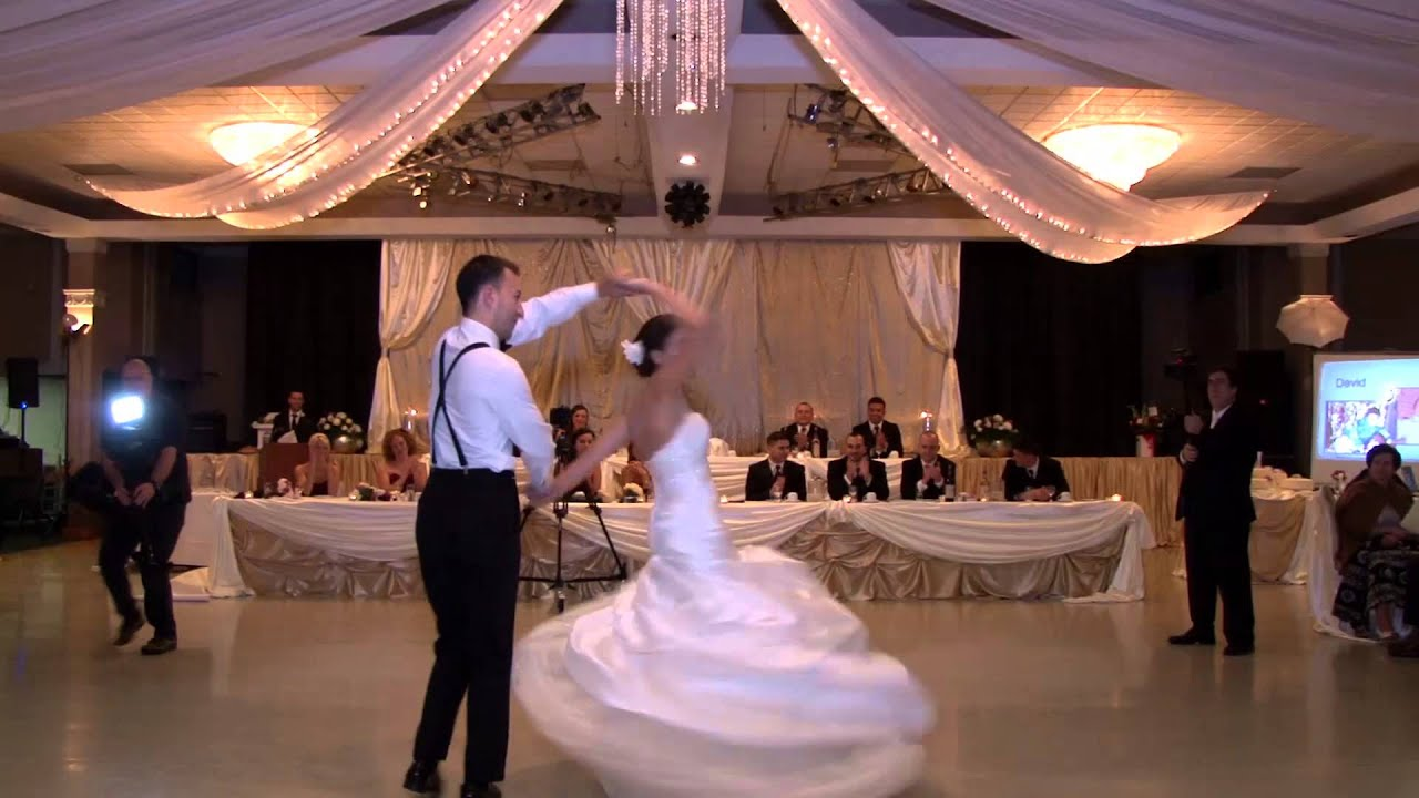 One Of The Best Choreographed First Dances London Ontario Wedding Videography