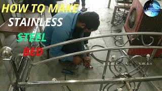 MAKING THE INDUSTRIAL STEEL BED!! By md khan