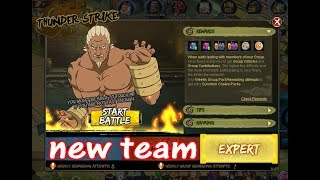 NARUTO ONLINE - STRONG APPROACHING THUNDER STRIKE AI - EXPERT